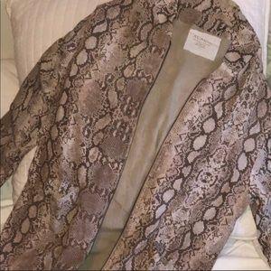 Rare Acacia python jacket size S-BNWOT